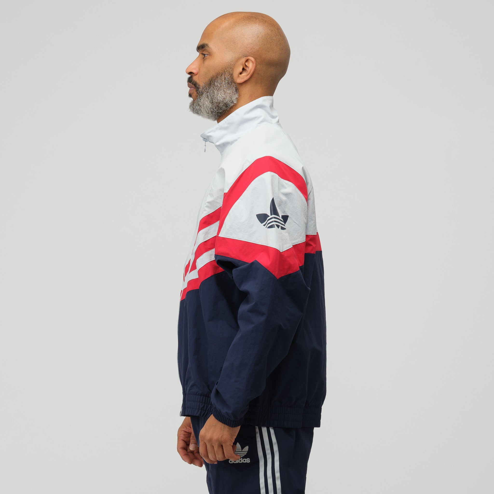 Sportive Track Top in Navy