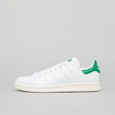 adidas Stan Smith in White/Green - Notre