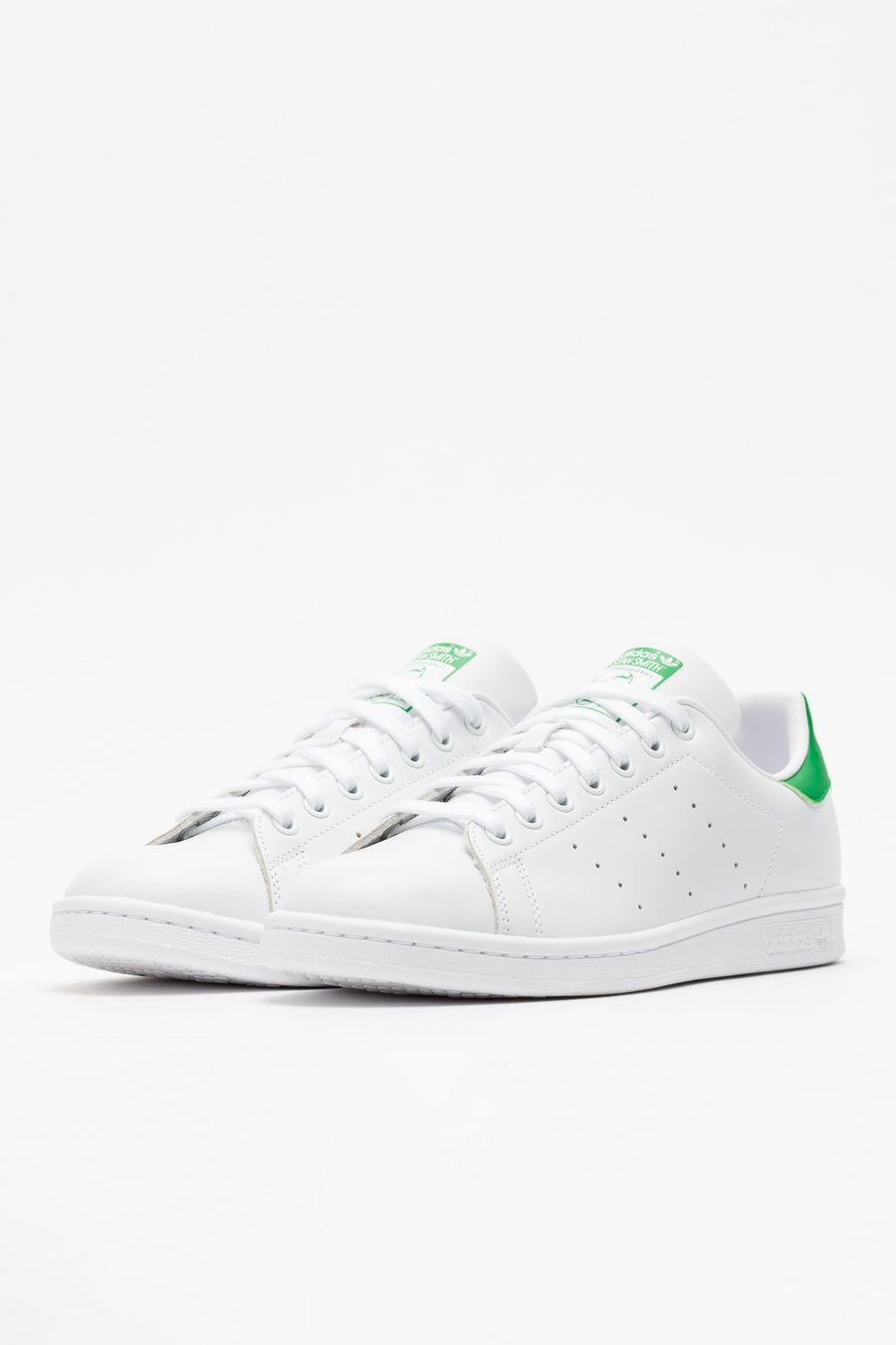 Adidas Stan Smith in Core White/Fairway - Notre