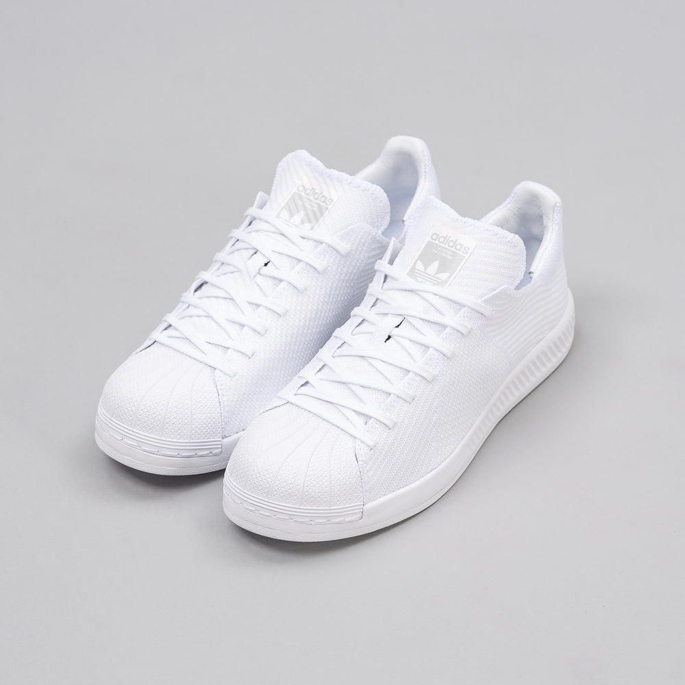 Adidas Superstar Bounce Primeknit in Vintage White - Notre