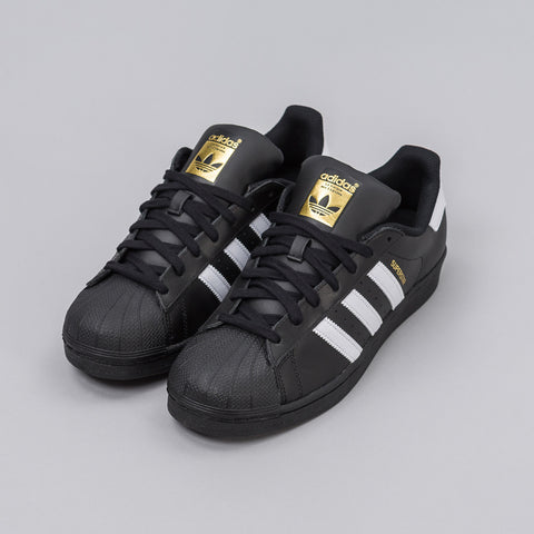 Adidas Superstar Foundation in Core Black - Notre