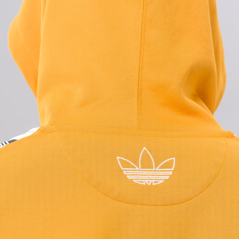 Adidas TNT Tape Hoodie in Yellow - Notre