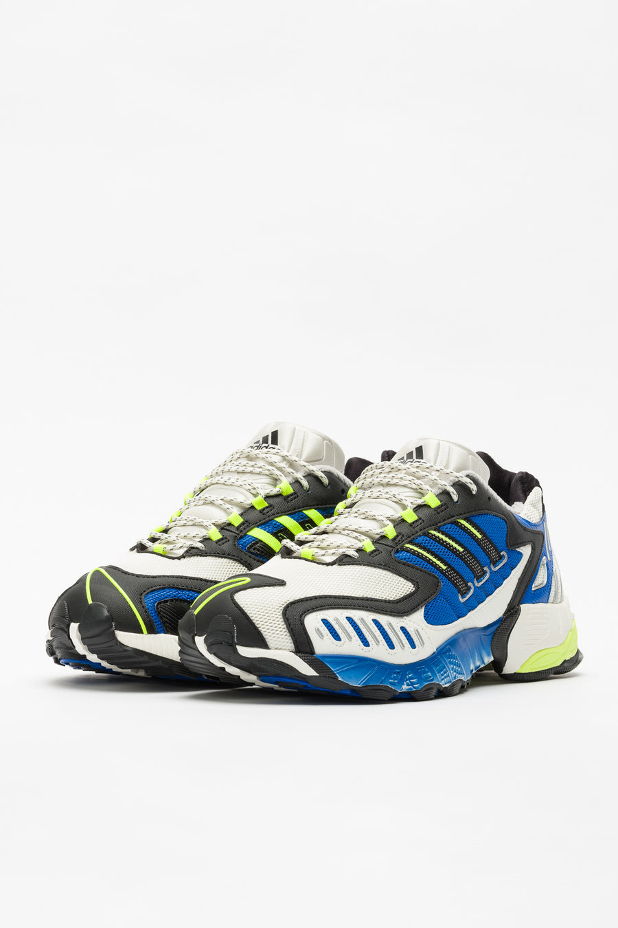 adidas Consortium Torsion TRDC in Blue/Yellow - Notre