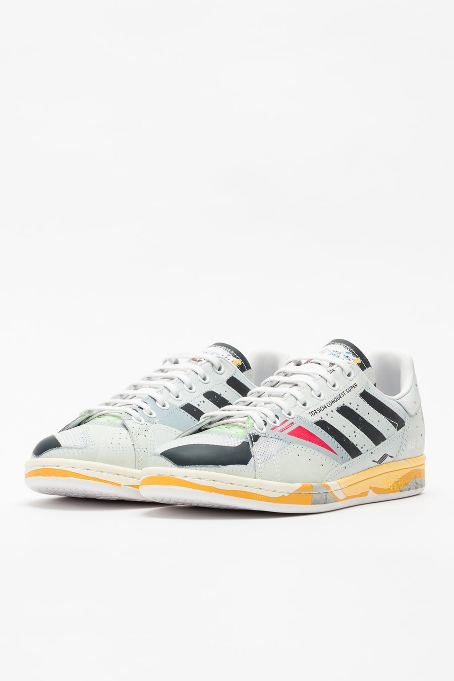 adidas RS Torsion Stan in White/Black/Grey - Notre