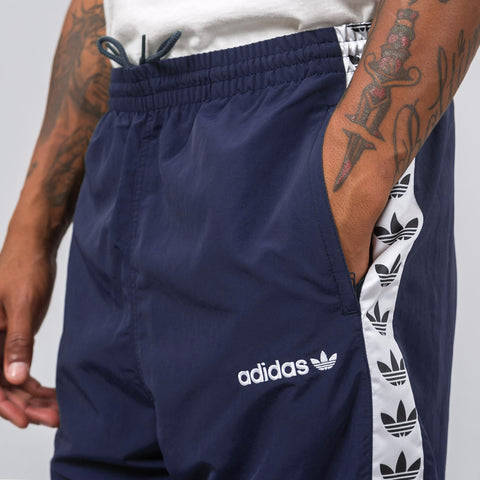 Adidas Trefoil Tape Wind Pant in Trace Blue - Notre