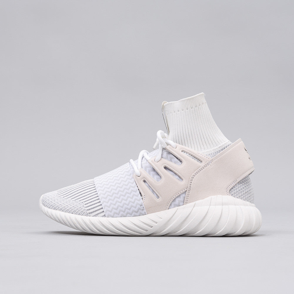 adidas Tubular Doom Primeknit in Vintage White/Grey S80509