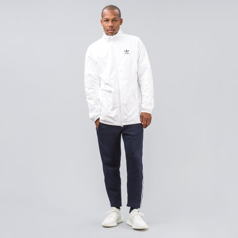 Adidas Tyvek Coach Jacket in White - Notre