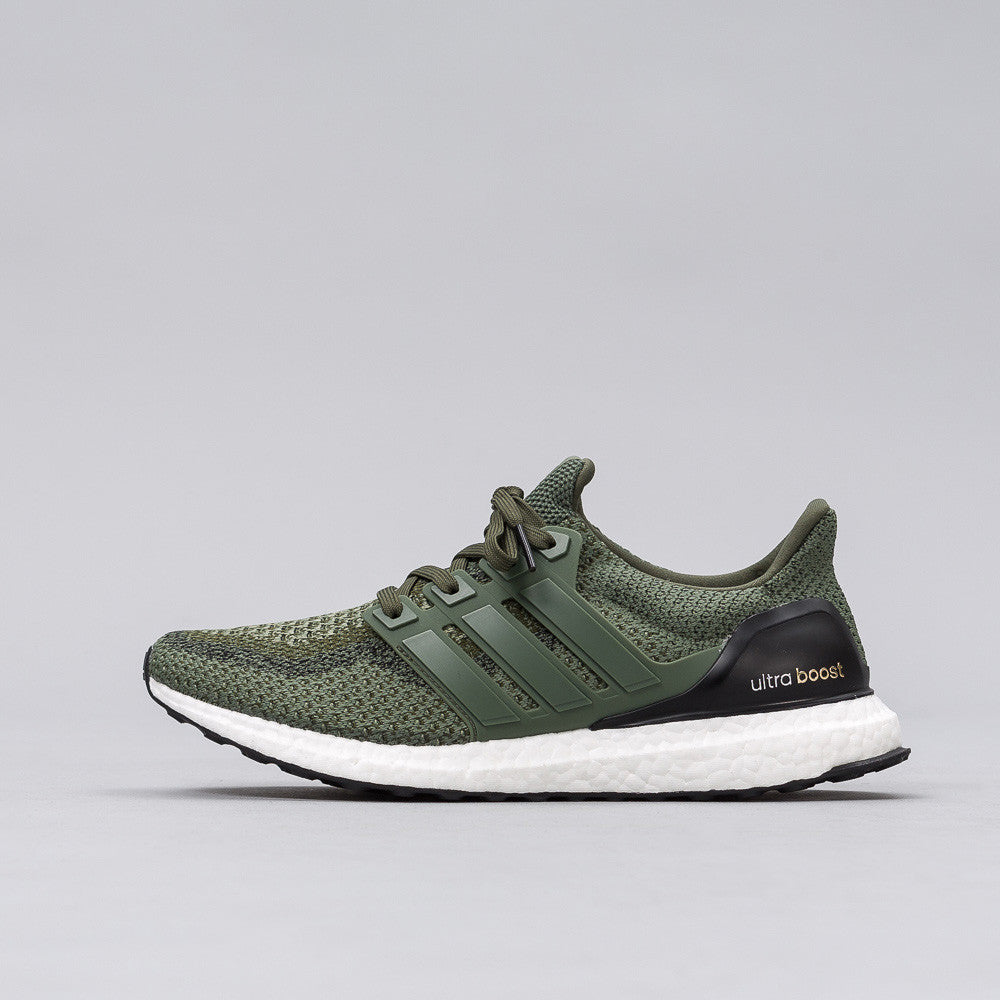 Adidas - Ultra Boost in Olive - Notre - 1