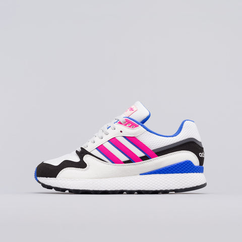 adidas Ultra Tech in Crystal White/Shock Pink - Notre