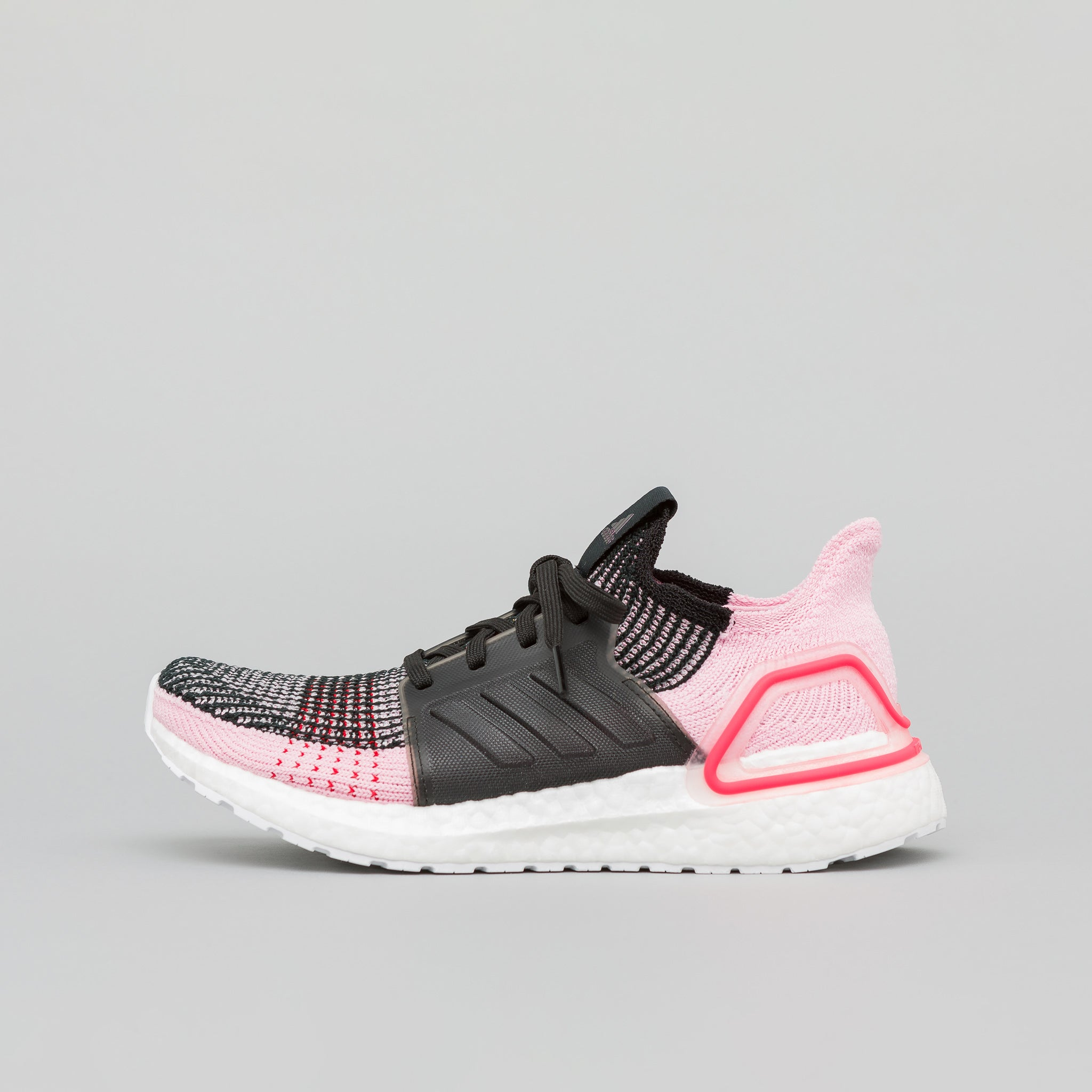 adidas Women s Ultraboost 19 in Core Black Orchid Tint Red  a9cfddd82