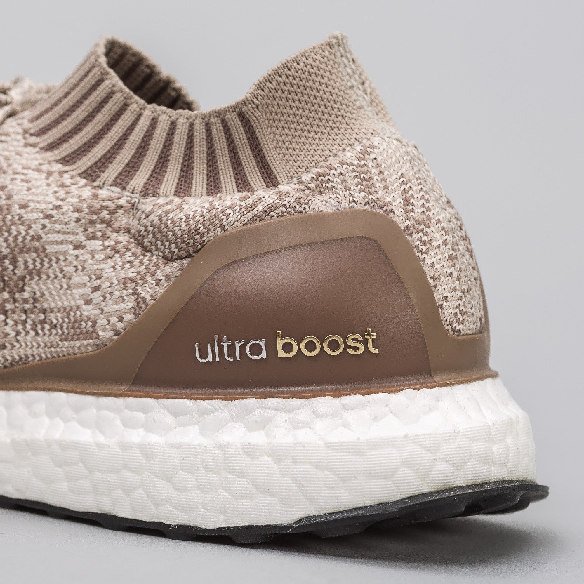 Ultra Boost Uncaged in Clear Brown
