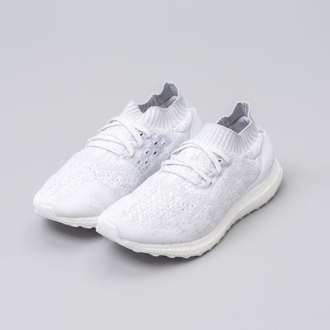 adidas Ultra Boost Uncaged in Triple White - Notre