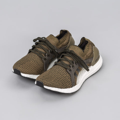 adidas Women's Ultra Boost X in Trace Olive - Notre