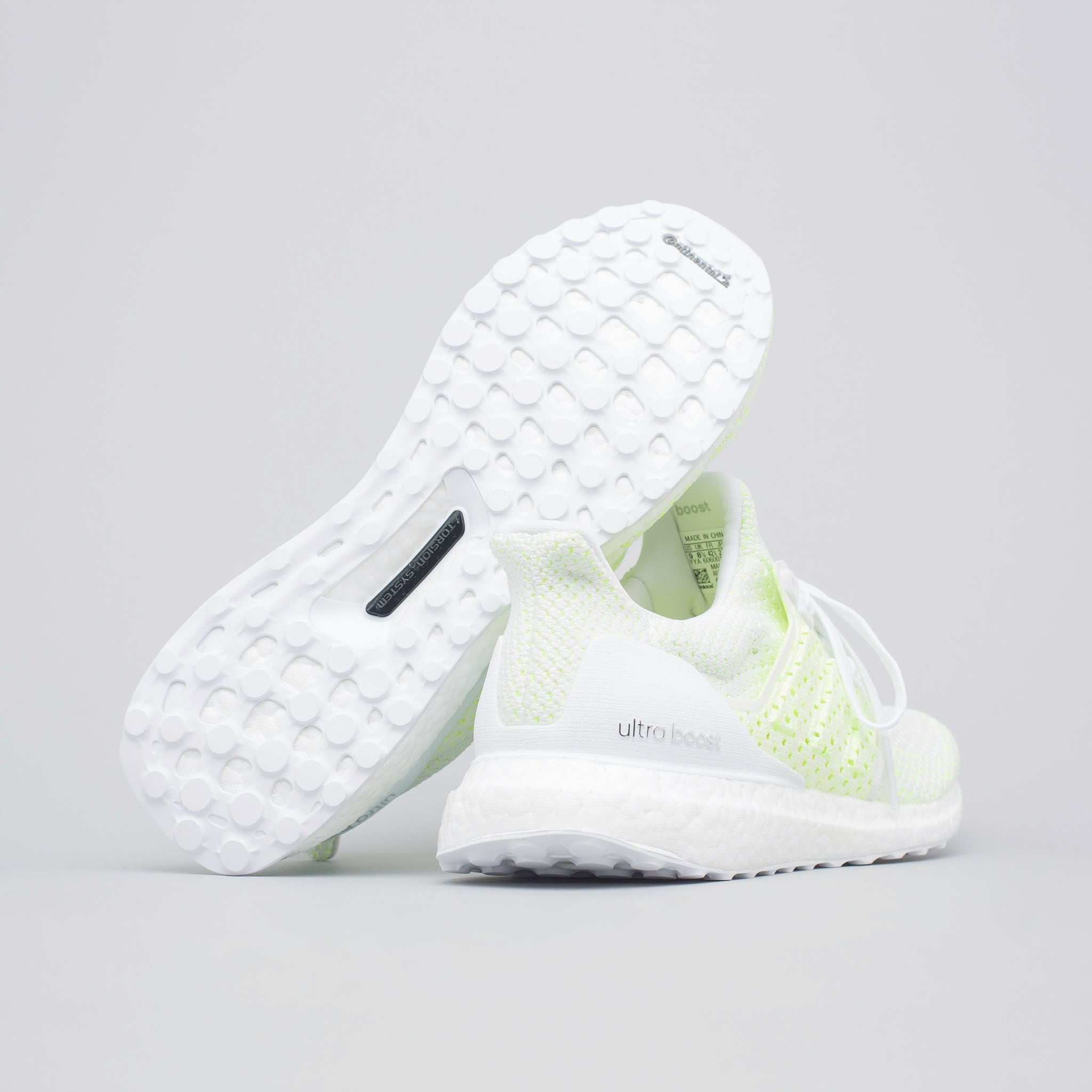 511959944 adidas Ultra Boost Clima in Solar Yellow White