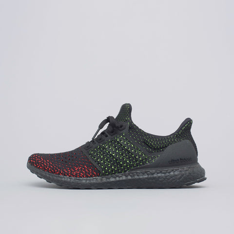 adidas Ultra Boost Clima in Core Black/Solar Red - Notre