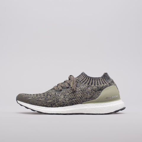 adidas Ultra Boost Uncaged in Trace Cargo/Core Black - Notre