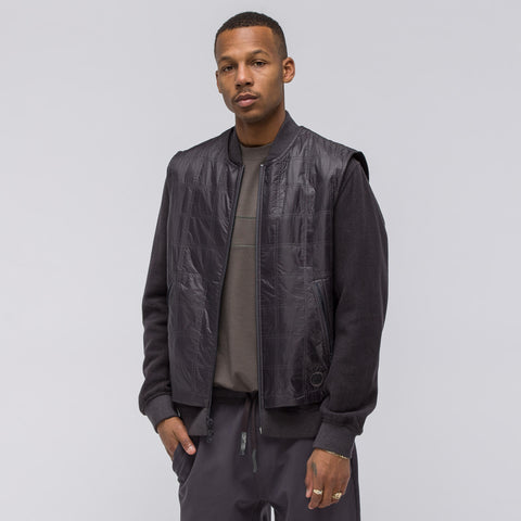 Adidas x Wings+Horns Bomber Jacket in Utility Black - Notre