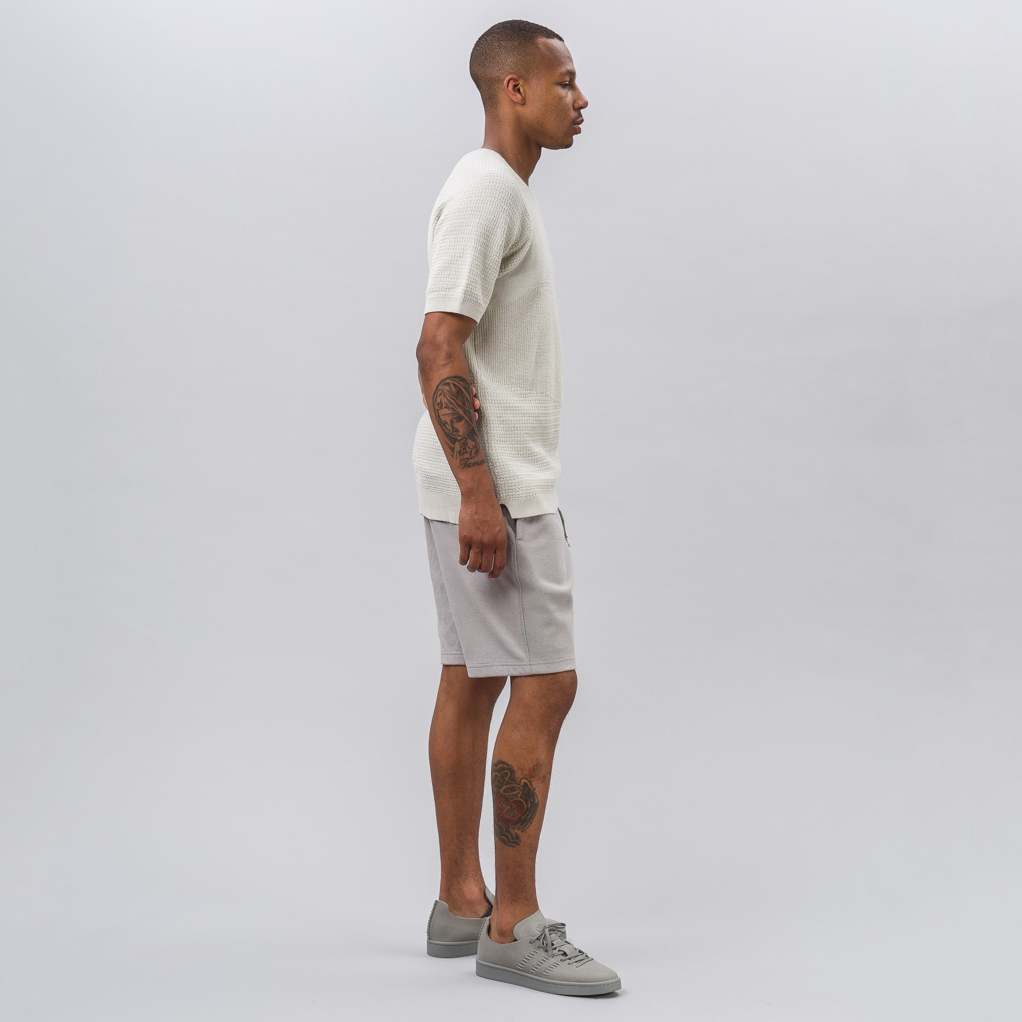 x wings+horns Shorts in Grey