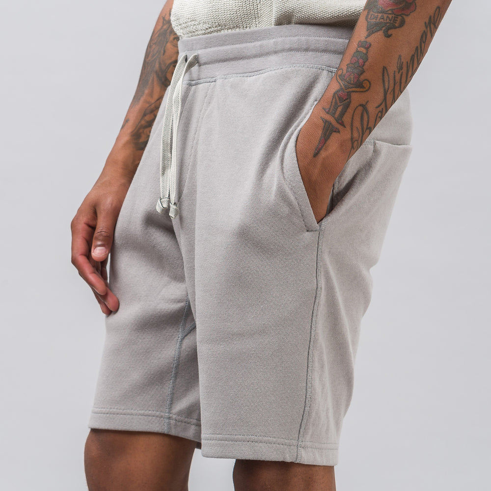 Adidas adidas x wings+horns Bonded Linen Shorts in Solid Grey - Notre