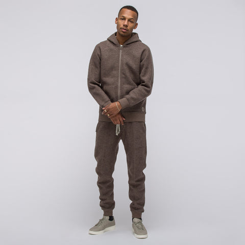 Adidas x Wings+Horns Bonded Wool Full Zip Hoody - Notre