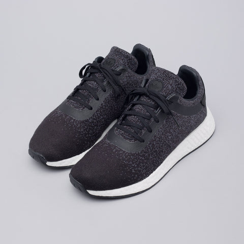 Adidas x Wings + Horns NMD R2 Primeknit Core Black/Utility Black/Grey - Notre