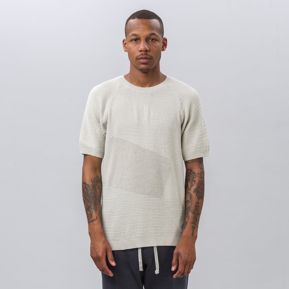 adidas x wings+horns Patch Tee in Hint of Fog