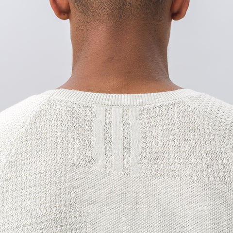 Adidas adidas x wings+horns Patch Tee in Hint of Fog - Notre