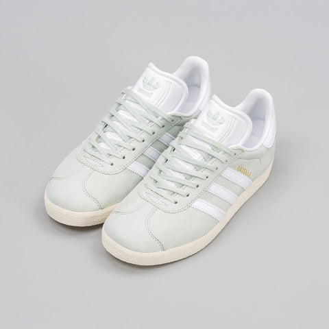 Adidas Women's Gazelle in Linen Green - Notre