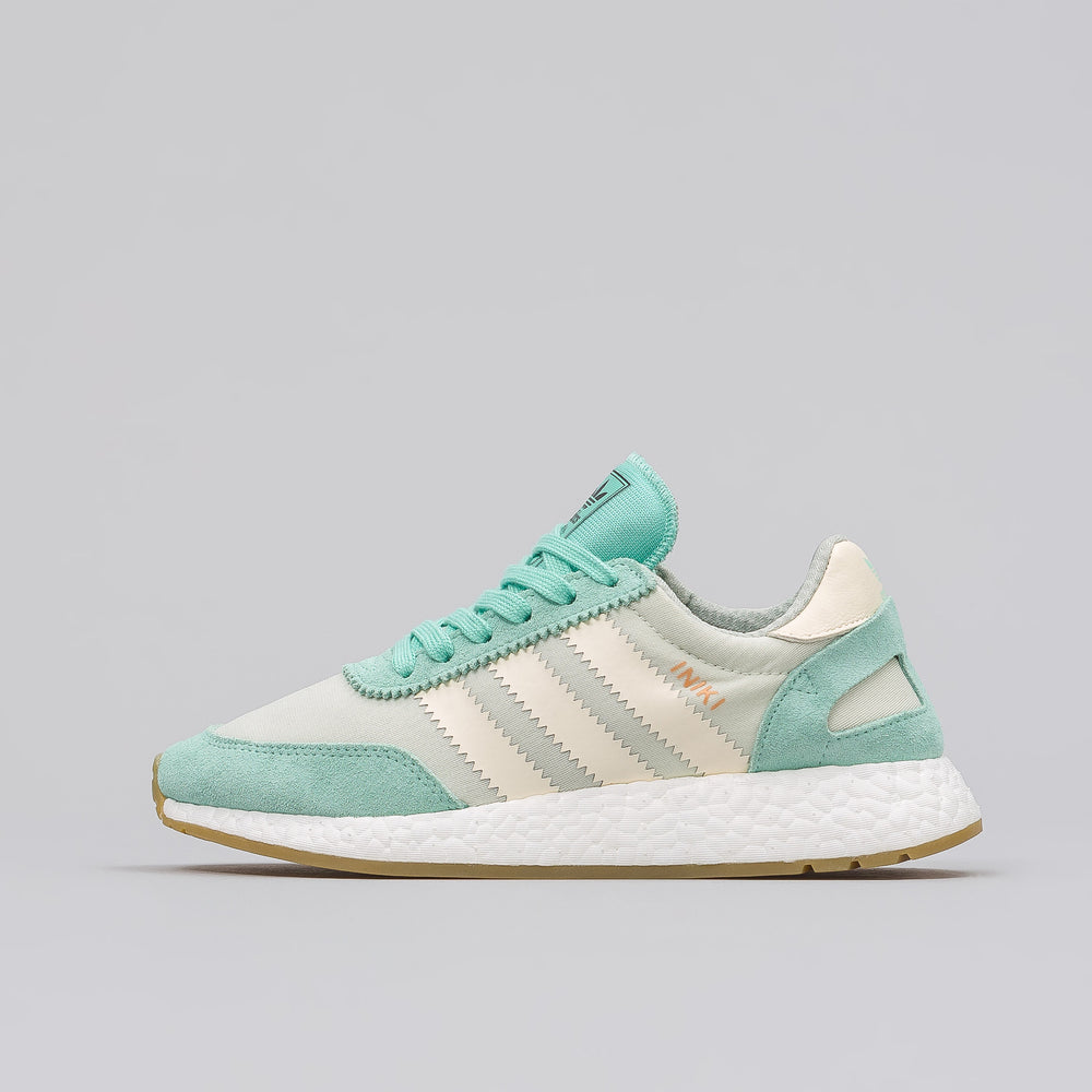 Adidas Women's Iniki Runner in Green - Notre