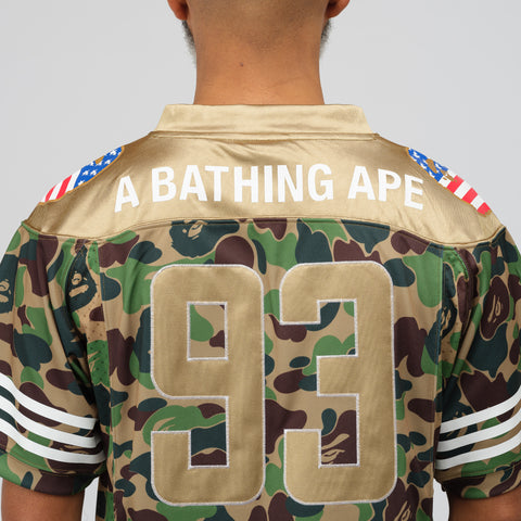 adidas x BAPE Football Jersey in Multicolor - Notre