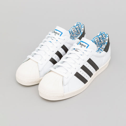 adidas Have A Good Time Superstar 80s in Cloud White - Notre