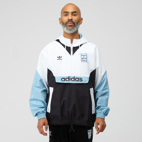 adidas x Have A Good Time Pullover in Blue/White - Notre