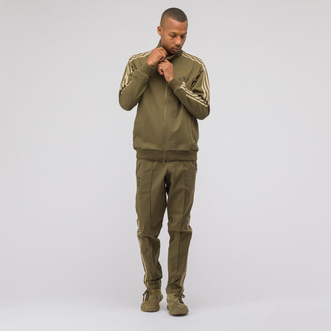 adidas x Neighborhood Track Pants in Olive - Notre