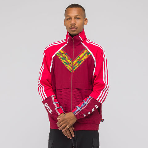 adidas x Pharrell Williams Solar HU Track Top in Red - Notre
