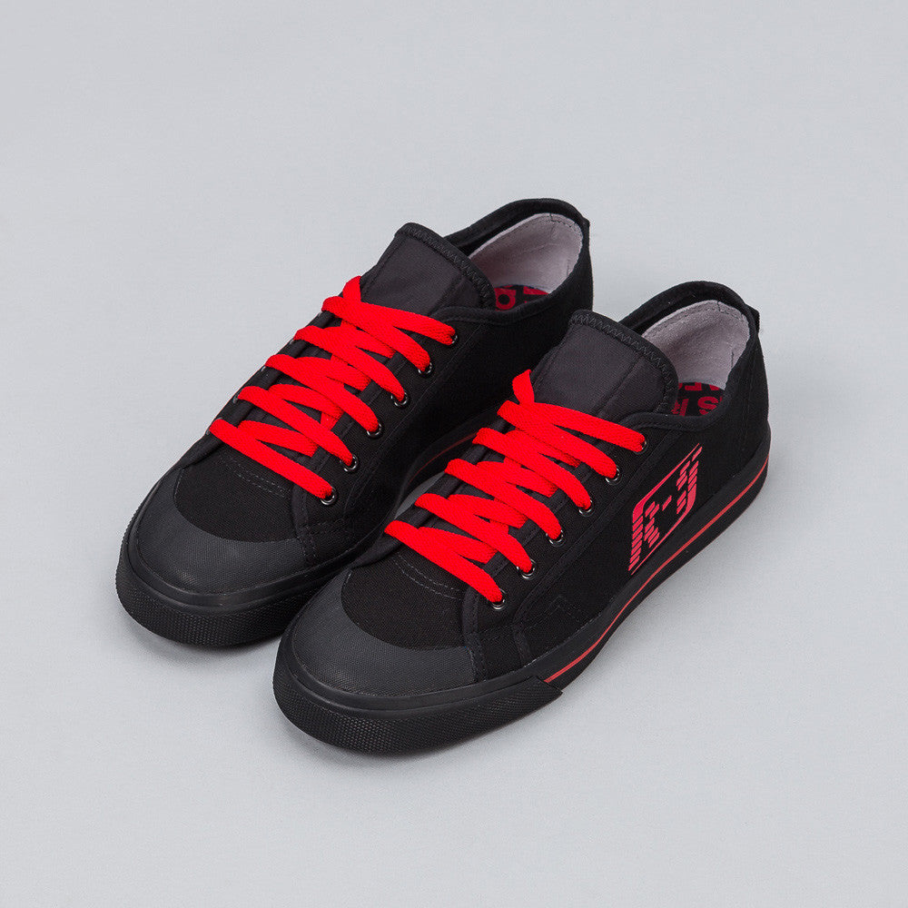 Adidas x Raf Simons - x Raf Simons Matrix Spirit Low in Black/Red - Notre - 1