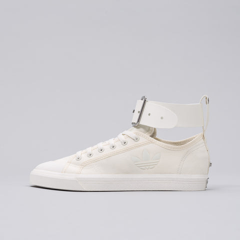 Adidas x Raf Simons Spirit Buckle Trainer in White - Notre