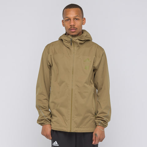 adidas x UNDEFEATED 3L Goretex Jacket in Khaki - Notre
