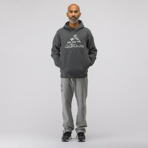 adidas x Undefeated Tech Hoodie in Dark Grey Heather - Notre