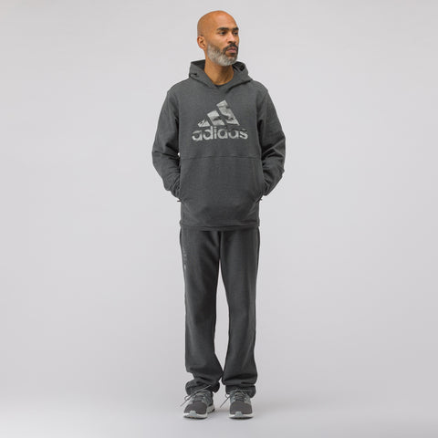 adidas x Undefeated Tech Sweatpant in Dark Grey Heather - Notre