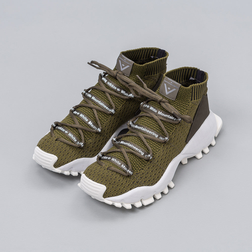 x White Mountaineering SEEULATER in Olive