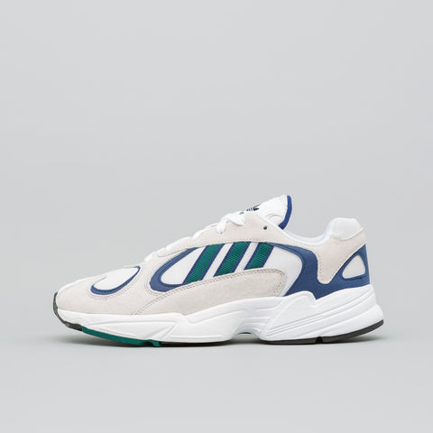 adidas Yung-1 in Cloud White/Green - Notre