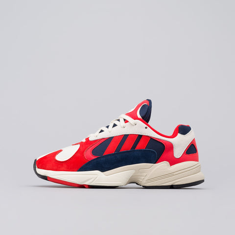 adidas Yung-1 in Core White/Black/Navy - Notre
