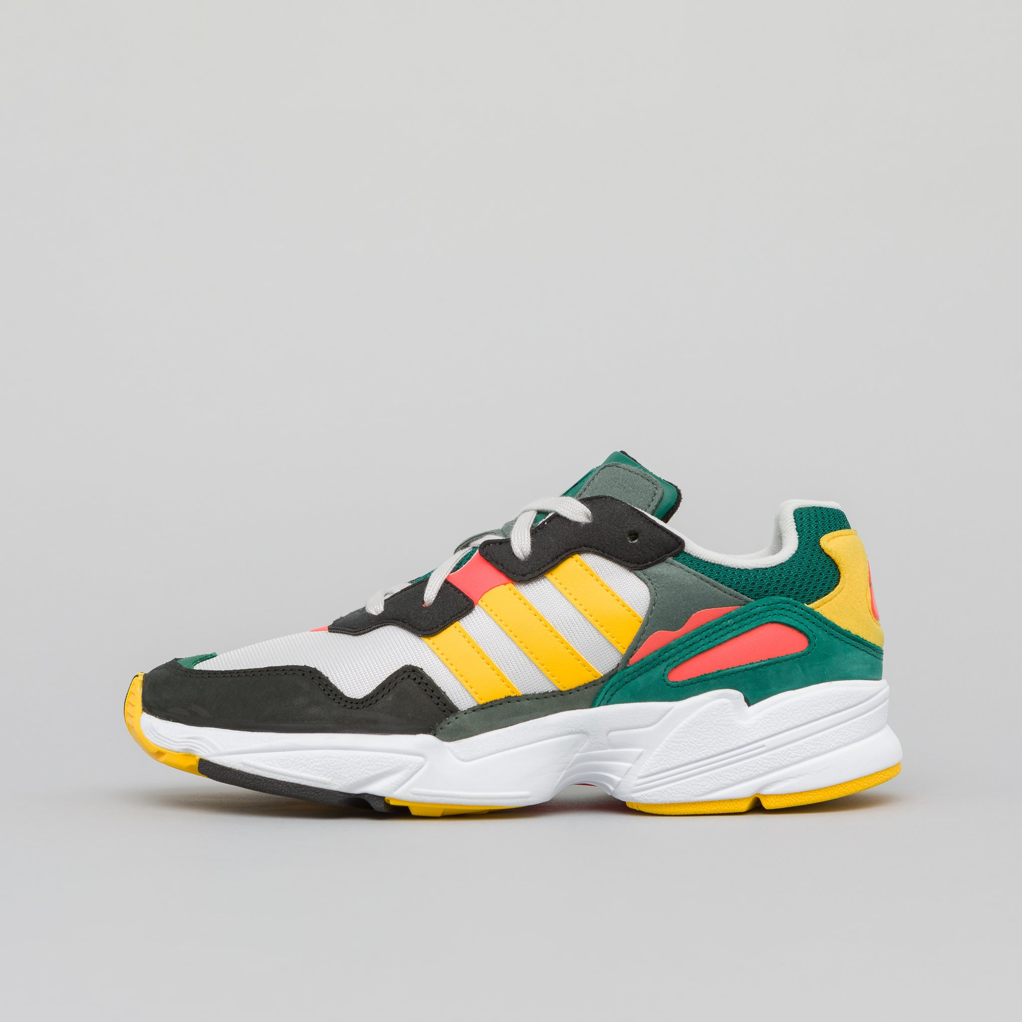 Yung-96 in Grey Gold Red · adidas 0c389771c