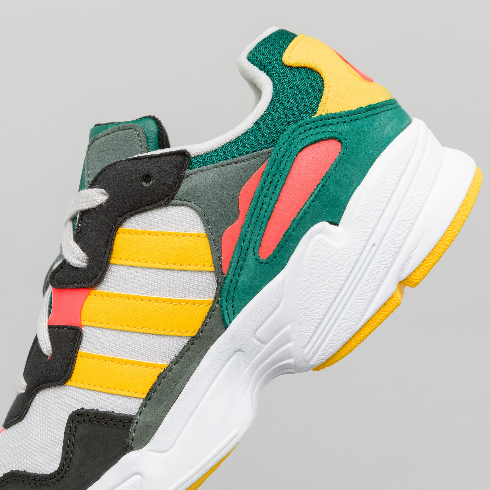 adidas Yung-96 in Grey Gold Red  6a1fc85a8