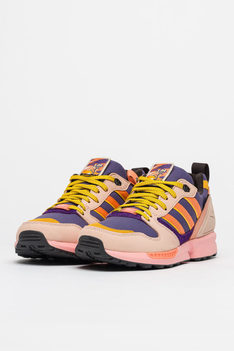 Zx 5000 National Park Foundation Joshua Tree In Orange Pink Purple