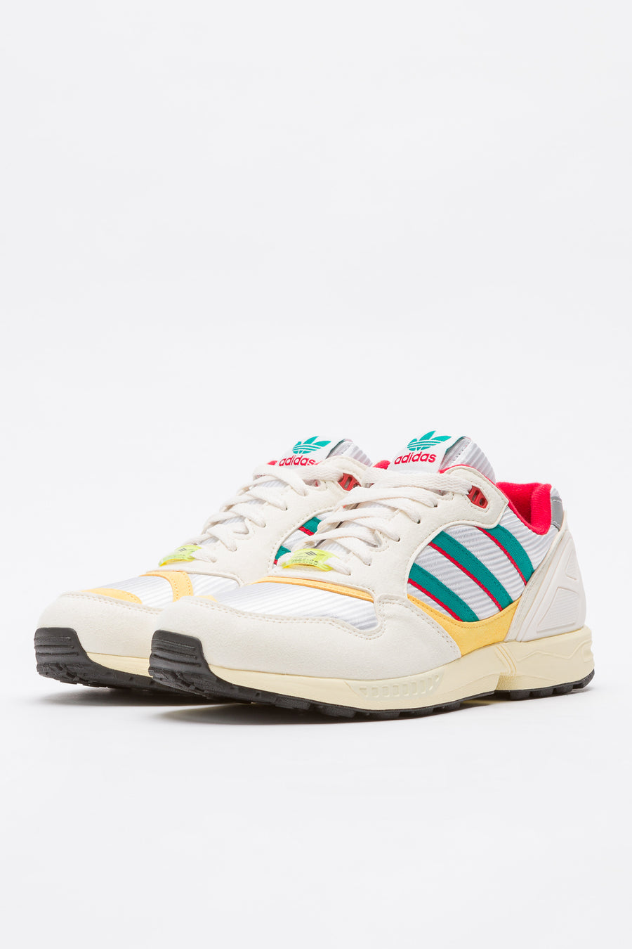 adidas ZX 6000 in Cream/Red/Yellow - Notre