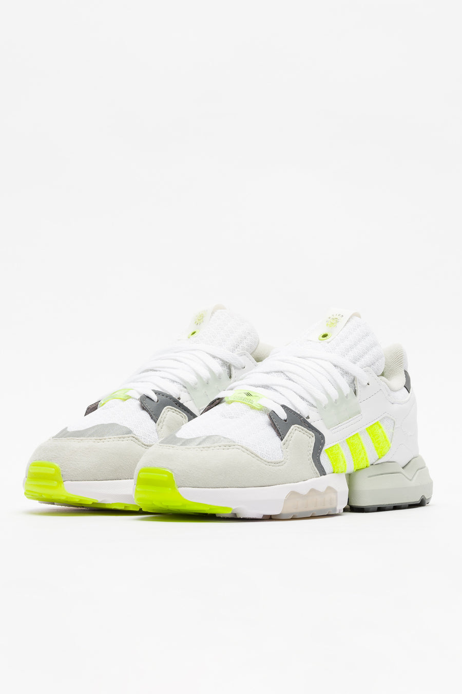 adidas Footpatrol ZX Torsion in White/Yellow/Grey - Notre