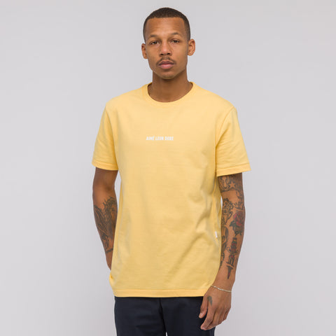 Aimé Leon Dore ALD Graphic T-Shirt in Yellow - Notre