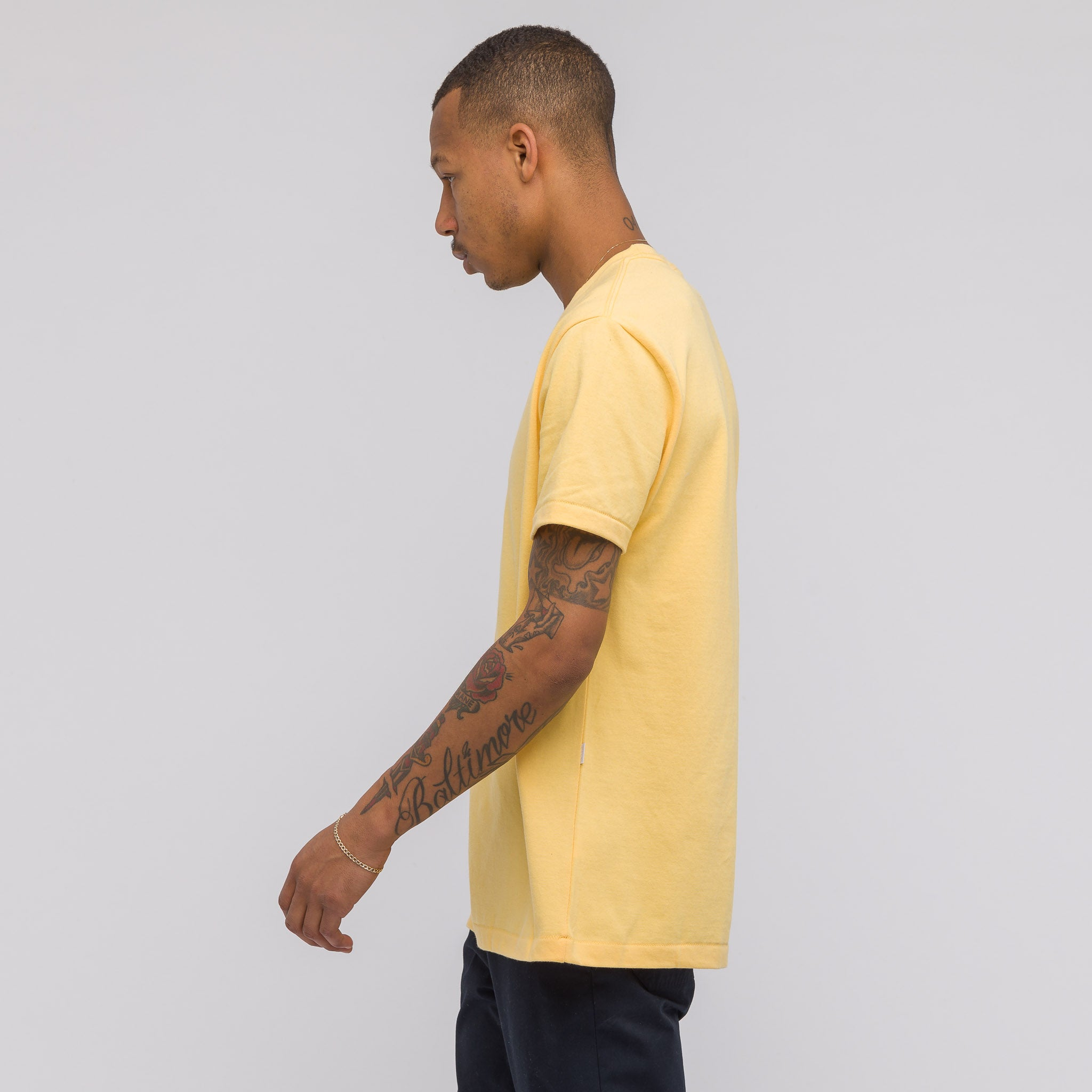 ALD Graphic T-Shirt in Yellow