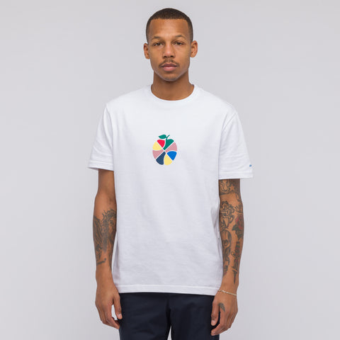 Aimé Leon Dore Apple T-Shirt in White - Notre